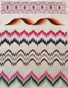 Bargello Embroidery Models, # bargellonstreaming # bargelltechnique, Very beautiful embroidery. Like cross-stitch ethamine samples. Bargello also has templates and you can choose the pattern you want by looking at . Bargello Needlepoint, Bargello Quilts, Broderie Bargello, Bargello Patterns, Needlepoint Stitches, Needlework, Cross Stitch Embroidery, Embroidery Patterns, Hand Embroidery