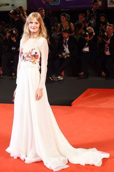 Constance Jablonski at the 'Humbling' premiere, Venice Film Festival