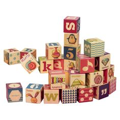 B. Toys B. Puzzled Wooden Blocks  24 Pieces