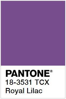 PANTONE 18-3531 Royal Lilac – Королевская Сирень