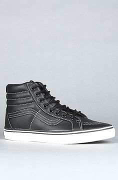 Vans Black Contrast Stitch High-Top Sneakers xS4MqttF