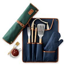 Shop bbq tool set from Mark and Graham. Our expertly crafted collections offer a wide of range of personalized and monogrammed gifts, including a variety of bbq tool set. Bbq Tool Set, Barbecue Grill, Grilling, Bbq Party, Modern, Tools, Graham, Kitchen Gadgets, Racing