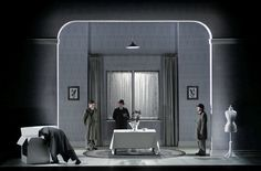 """""""I Went To The House But Did Not Enter"""" Set Design by Klaus Grünberg."""
