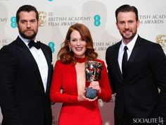 Henry Cavill, Julianne Moore & Chris Evans - A Roundup Of The Hottest Actors At The 2015 BAFTAs