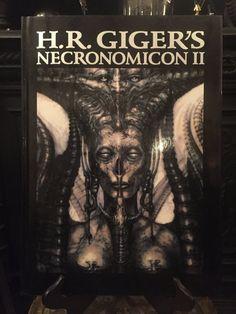 H.R. Giger's Necronomicon II 1980s Surrealism Alien Sex