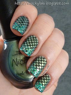 mermaid scales!