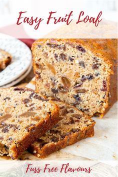 This cake is packed with moist vine fruits such as raisins, currants and sultanas,but you could add some dried cranberries, chopped pineapple, apricot or dates. This fruit loaf is very easy to make! Best Vegan Cake Recipe, Fruit Loaf Recipe, Vine Fruit, Tea Loaf, Vegan Teas, How To Make Tea, Dried Cranberries, Homemade Cakes, Dairy Free Recipes