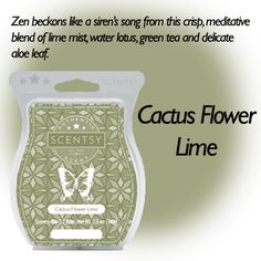 Cactus Flower Lime (New Release)