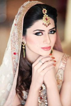 Pakistani Sleeveless Bridal Dresses