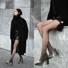 Get this look: http://lb.nu/look/8582039  More looks by Holynights Claudia: http://lb.nu/holynights  Items in this look:  Dropp Velvet Boots   #chic #edgy #street #droppshoes #coolshoes #profshoes