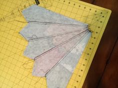 Just give me a needle!: Dresden Necktie Quilt Tutorial                                                                                                                                                                                 More