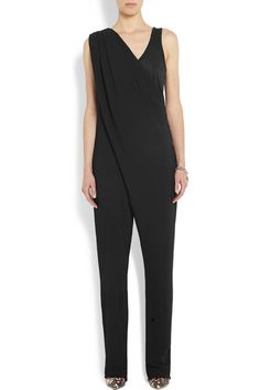 Givenchy | Black stretch-crepe jumpsuit | NET-A-PORTER.COM