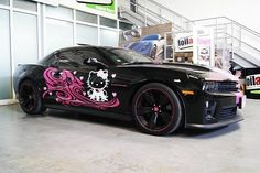 Hello Kitty Camaro ZL1