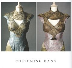 Danaerys qarth leather | Costuming Dany. From Inside HBO's Game of Thrones (Chronicle Books ...
