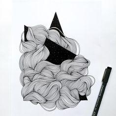 "156 Likes, 8 Comments - C.Beatrix (@c.beeatrix) on Instagram: """"All progress takes place outside the comfort zone"" - Michael John Bobak • • • • #inkedartgroup…"" #linedrawing #abstractart #linedrawingart #linedrawingsimple #drawingideas #geometricdrawing #geometricart #fineart #glicee"