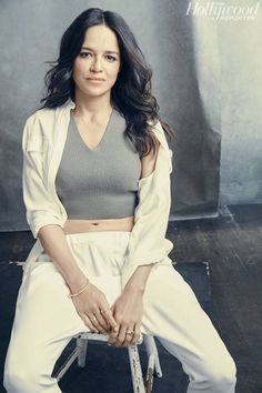 Michelle Rodriguez is the voice of Smurfstorm.
