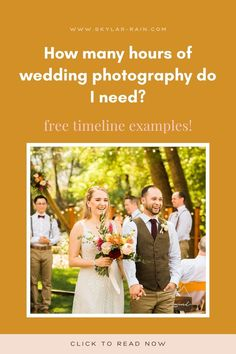 You're looking for a wedding photographer, but aren't sure how many hours of wedding photography coverage you might need. This blog post walks you through typical timing of a wedding day! You can download example wedding day photography timelines at the bottom of the post! Reception Games, Reception Activities, Rain Photography, Wedding Photography, Spring Wedding, Wedding Day, Wedding Timeline Template, Church Ceremony, Dance Photos