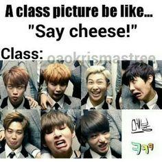 bts class pics