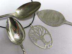 Handmade Sterling Silver Tree of Life Pendant. $95.00, via Etsy.