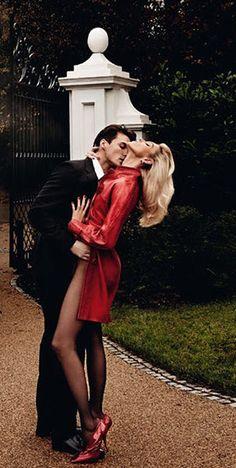 Vogue Paris April 2015 ~ me & my lady after a wonderful date night ;)