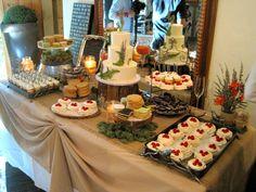 Copper Wedding Ideas | Dessert Table | Copper Goat Confections