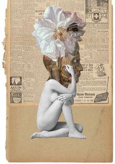 stremplerART — Collage CICOTTE 2013 Waldemar Strempler Tumblr