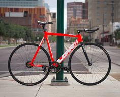 Cool fixed gear bike