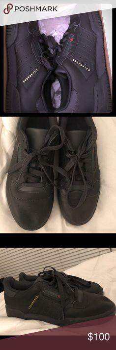 6f05eb544a4a Authentic Yeezy Powerphase Sz 5 M - 6.5 FM - Black Authentic Yeezy Adidas  Powerphase sneakers