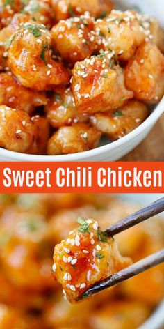The Rise Of Private Label Brands In The Retail Meals Current Market Sweet Chili Chicken - Delicious Crispy Chicken With Sticky, Savory And Thai Sweet Chili Sauce. This Recipe Is So Good And Finger Lickin' Good Sweet Chili Chicken, Thai Sweet Chili Sauce, Sauce For Chicken, Recipe Chicken, Chinese Chilli Chicken Recipe, Chinese Crispy Chicken, Sweet Sauce, Chili Sauce Recipe, Recipe With Sweet Chili Sauce