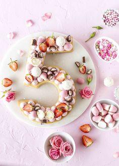 Candy Number Cake (Kuchentrend 2018) - Emma's Lieblingsstücke