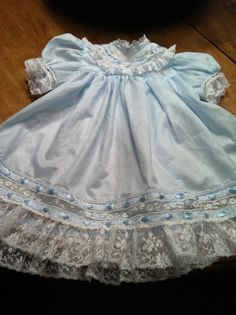 EK's 6 mos. dress.....Martha Pullen's Party Dress pattern?--round yoke
