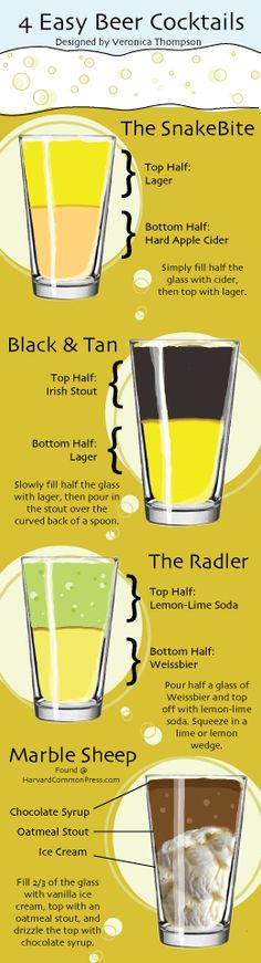 4 easy beer cocktails