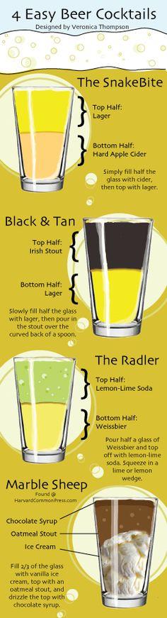 4 easy beer cocktails