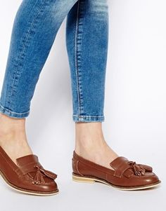 ASOS MARATHON Leather Loafers // Totally on the wish list