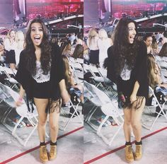 lauren at the one direction concert!