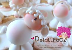 Borregada Single sheep by DetaLLitoOz - Spanish clayer