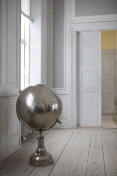 ash grey wide plank floors - we shall meet someday perfect floors  @ http://themuddykitchen.com/