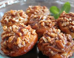 mini pecan sticky buns