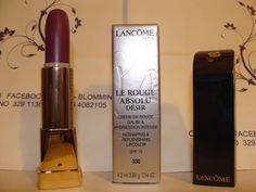 Lancôme Le Rouge Absolu Desir Lipstick Boxed n 330 Doux Frisson originale nuovo