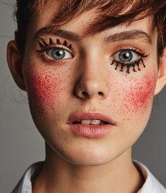 Incredible natural makeup model the makeup of the natural model is not . Beauty Make-up, Beauty Hacks, Hair Beauty, Beauty Style, Makeup Art, Eye Makeup, Hair Makeup, Doll Makeup, Games Makeup