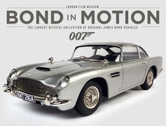 Bond in Motion at London Film Museum - More Info www.asff.co.uk/blog