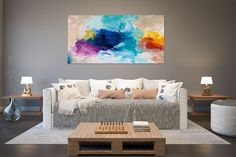 Items similar to Large Abstract Painting,square painting,extra large wall art,large abstract art,textures painting on Etsy Texture Art, Texture Painting, Gold Canvas, Canvas Art, Hallway Art, Oversized Wall Art, Extra Large Wall Art, Artwork Display, Colorful Paintings