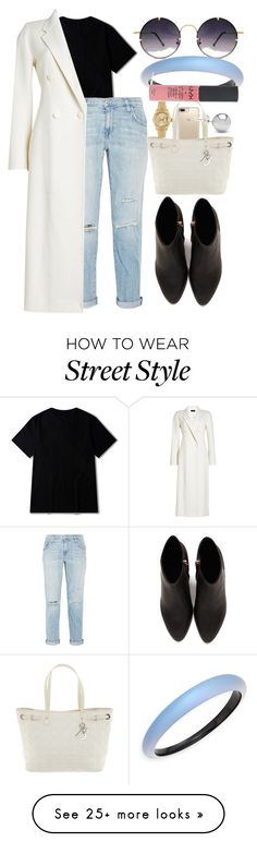 """Street style"" by anna-bigsis on Polyvore featuring Current/Elliott, Alexander Wang, Joseph, Speck, Jewelonfire, Christian Dior, Spitfire, Rolex and Alexis Bittar"