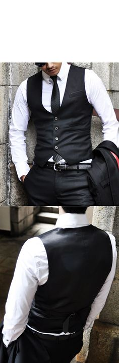 Mens Post Modern Lux Black Suit - Mens Suit - Clothing - Guylook