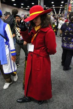 Carmen Sandiego |  Awesome Costumes For Every Hair Color