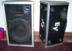 Electro-Voice FM12-2 floor monitors