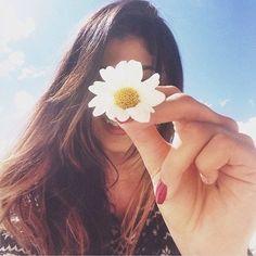 Fotos tumblrs com flores!!! Fáceis de fazer e ficam super Tumblr!!!