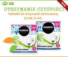 POLECAMY! Naturalne tabletki do zmywarki - ekologicznie usuwają brud z naczyń. Bezpieczne dla Twojego otoczenia :) http://www.naturepolis.pl/pl/do-zmywarek/2708-ecozone-ekologiczne-tabletki-do-zmywarki-classic-25-szt.html