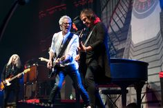 Kevin Cronin, Dave Amato and Bruce Hall, Reo Speedwagon, Copyright B&O Press Photo