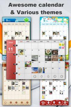 App Shopper: Awesome Photo Calendar + Memo & Audio Recording (Photography)